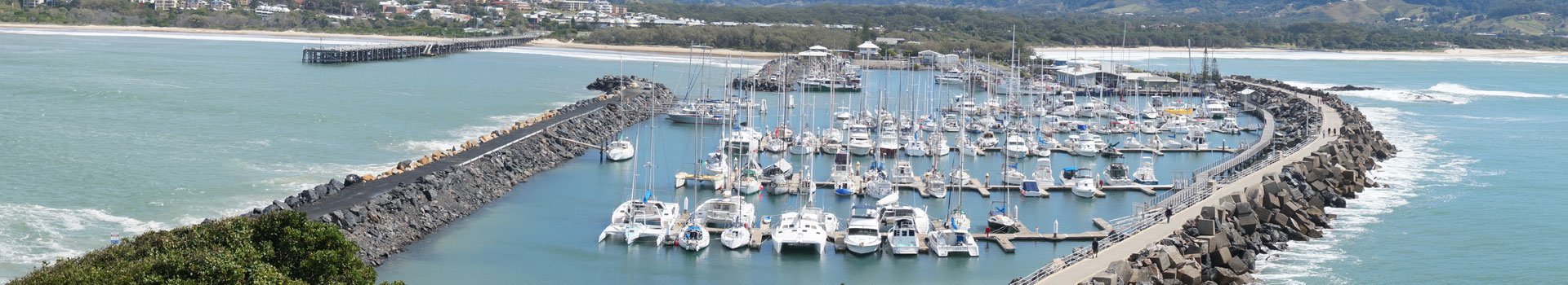coffs harbour international marina banner