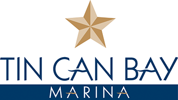 tin can bay marina logo